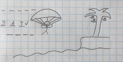 Parachute Hangman